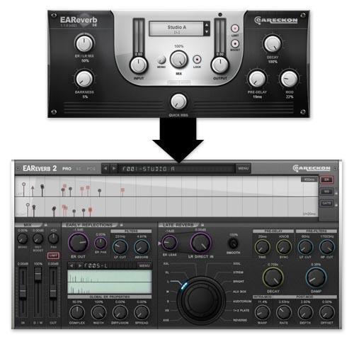 EAReverb SE > EAReverb 2 Upgrade